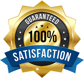 Guaranteed 100% Satisfaction for our Gutter Cleaning service